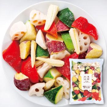 食研仕込 ごろごろ野菜 1kg 冷凍(6袋セット)