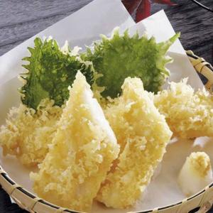 天ぷら素材(いか)冷凍(160本セット)
