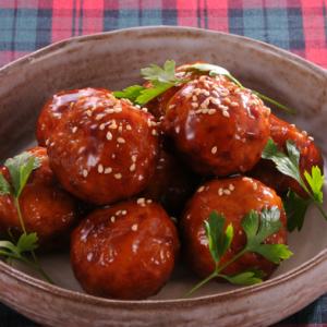 肉だんご(照焼風タレセット) 冷凍 (5セット)
