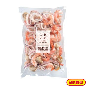 食研仕込 ごろごろ海鮮500g 冷凍(10袋セット)