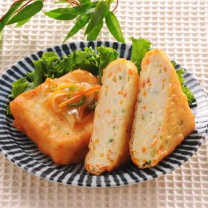 揚げ豆腐(野菜入)75g 冷凍(80ケセット)