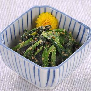 【販売終了】国産ほうれん草ごま和え 1kg 冷凍(6袋セット)