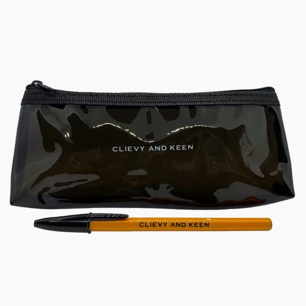 C&K:CLIEVY AND KEEN あの夢のBICのボールペン!BIGになるぜ!おまけがペンケース