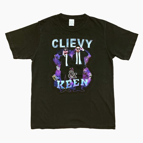 C&K:C&K ヴィンテージ風アーティストTシャツ