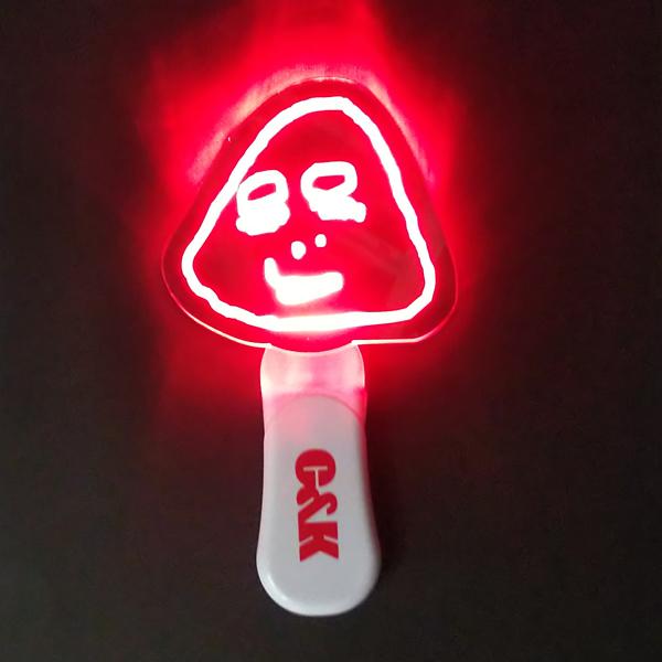 C&K:しいけさん紅白ペンライト