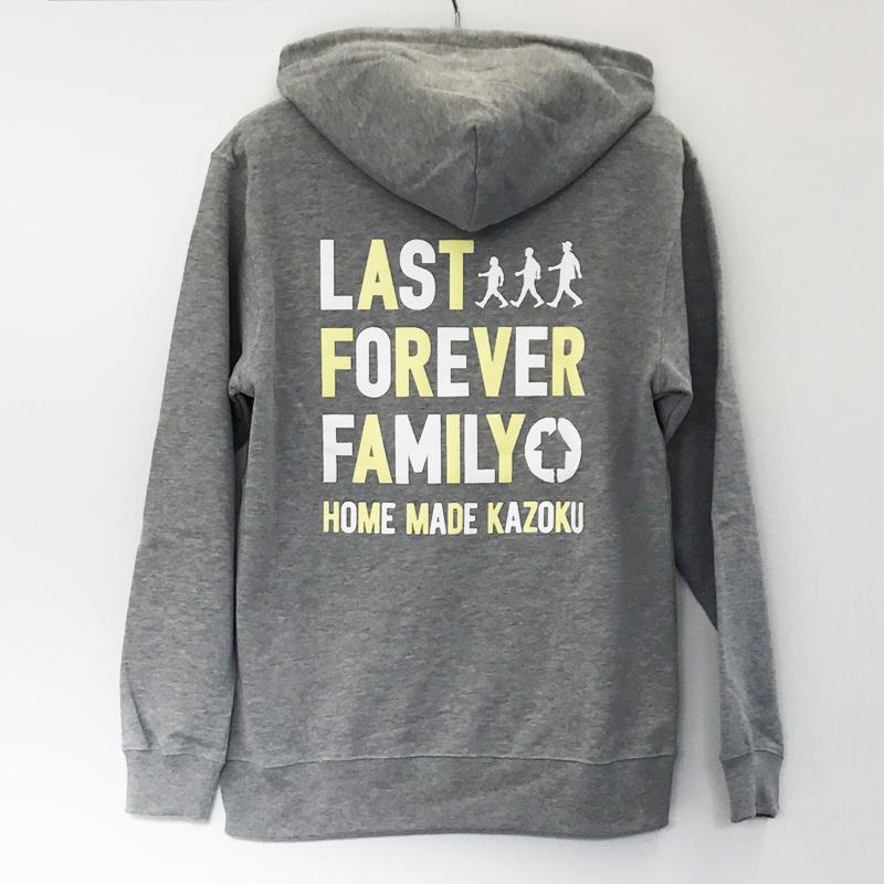 HOME MADE 家族:HMKU THE LAST LIVE パーカー