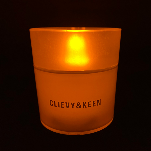 C&K:CLIEVY AND KEEN LEDキャンドル