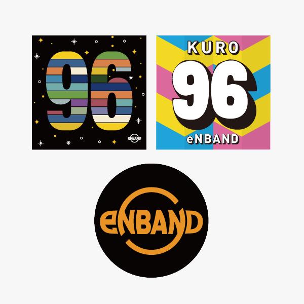 KURO:eNBAND&KUROステッカーセット