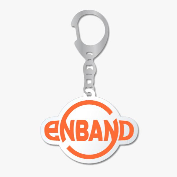 KURO:eNBAND ロゴ 透明キーホルダー