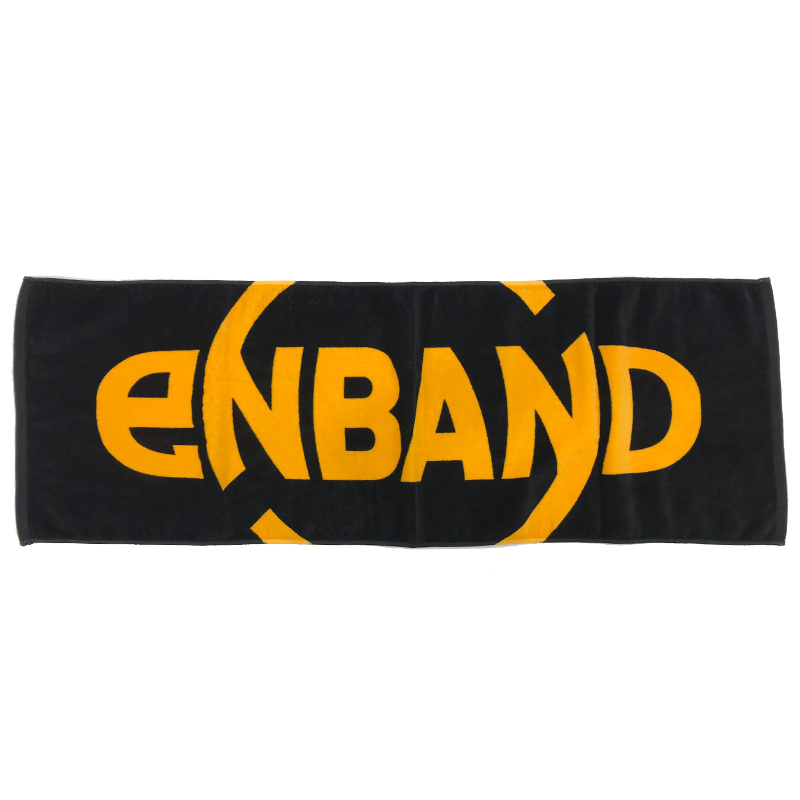 KURO:eNBAND ロゴ スポーツタオル
