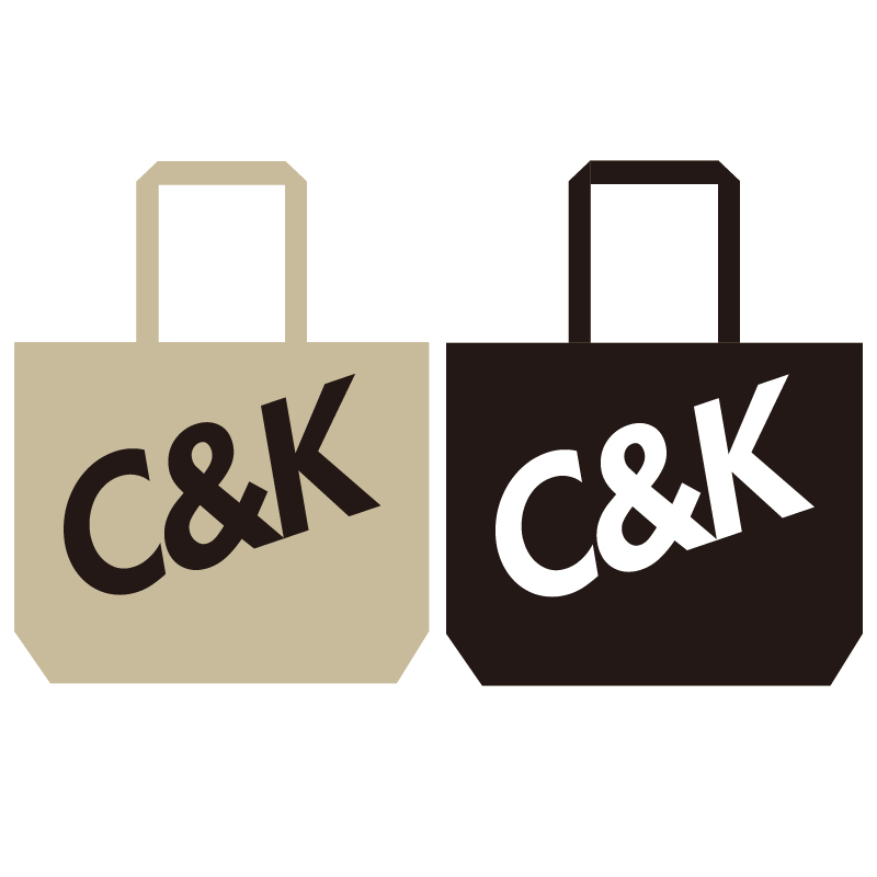 C&K:C&K ビッグロゴトート