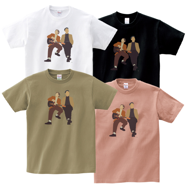C&K:CLIEVY AND KEEN イラストTシャツ