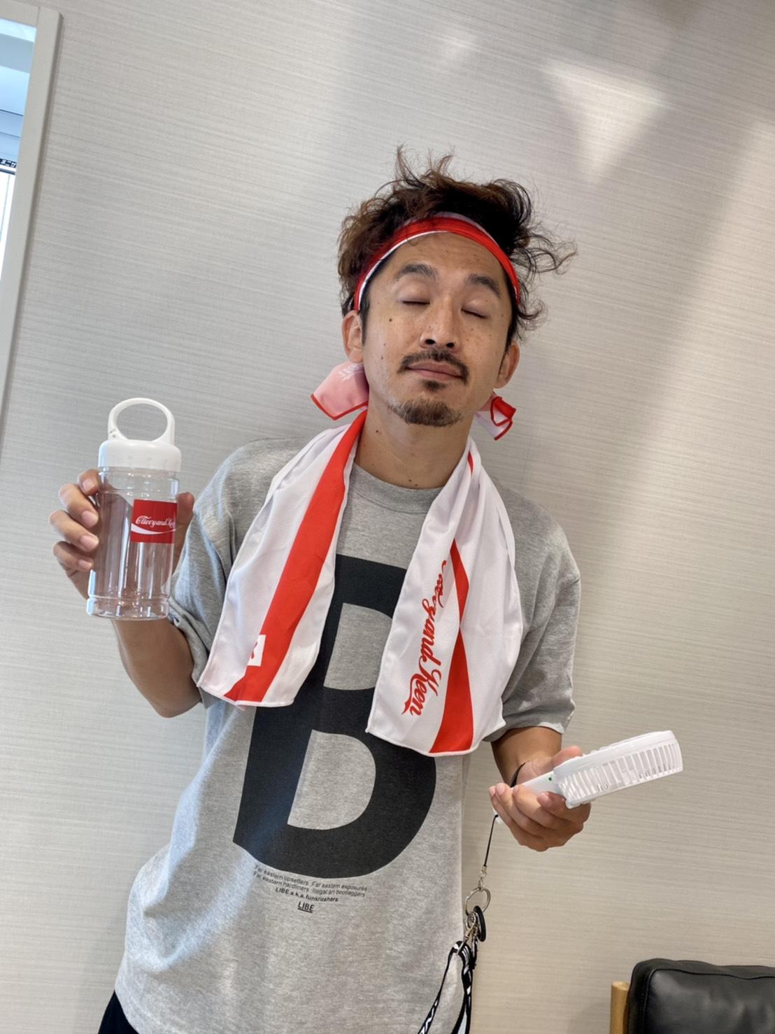 C&K:熱中症対策最適冷感タオル(紅)