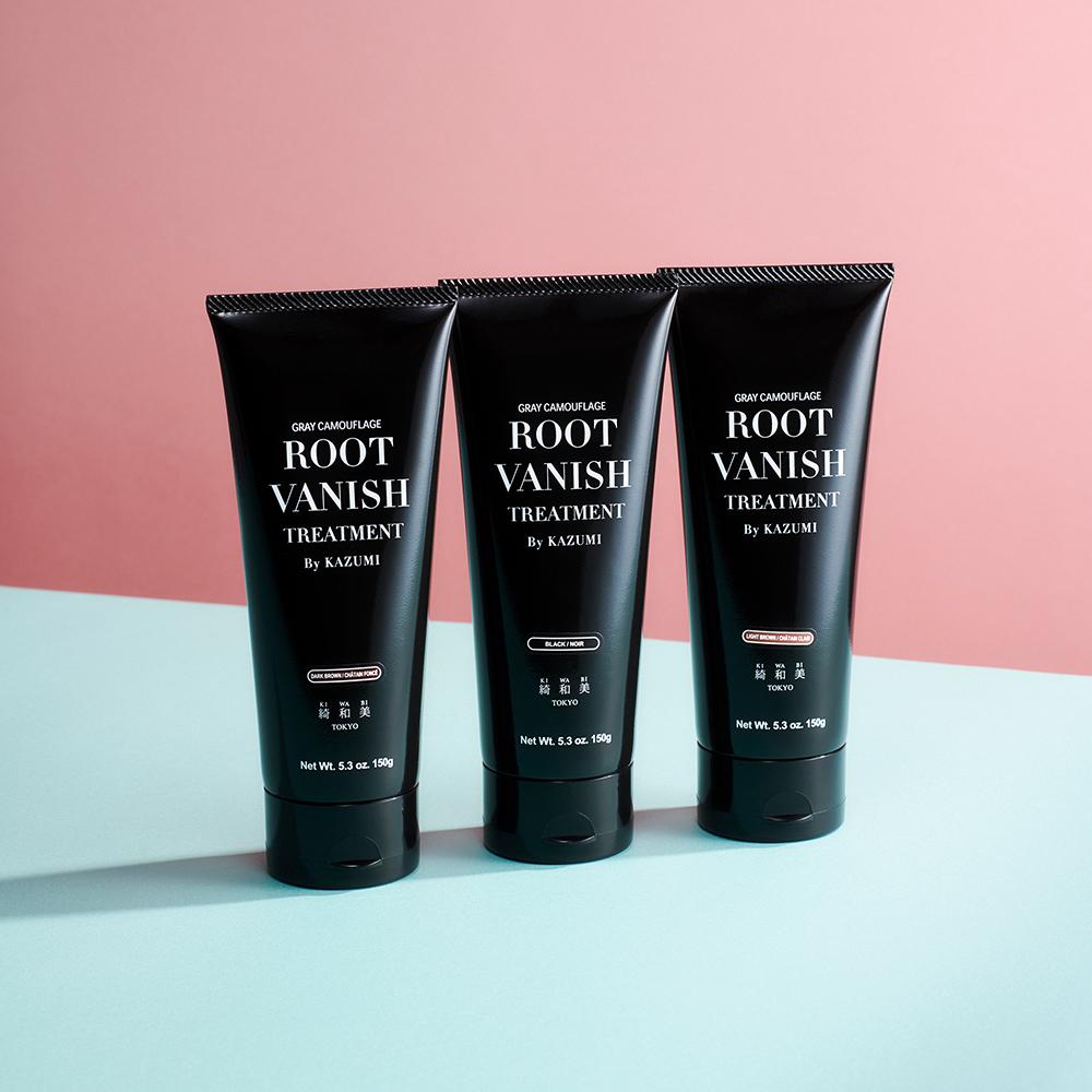 白髪染めカラートリートメント(ブラック)■