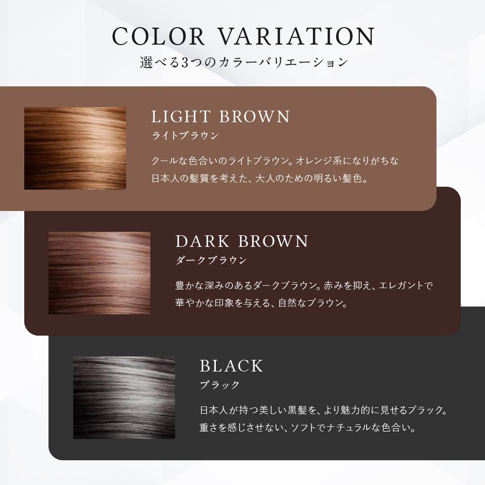 白髪隠しカラーリングブラシ(ライトブラウン)■