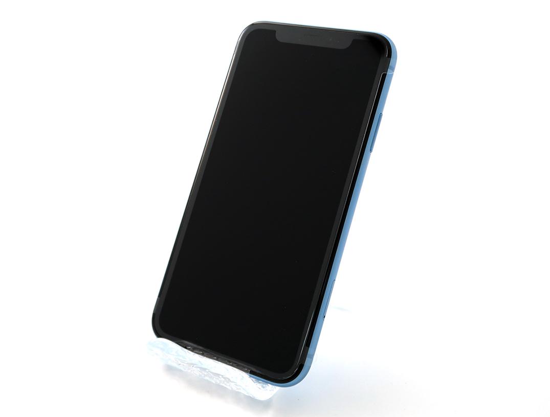 1周年 第二弾【SIMフリー】iPhoneXR 64GB Sランク未使用 ブルー[電池状態100%]