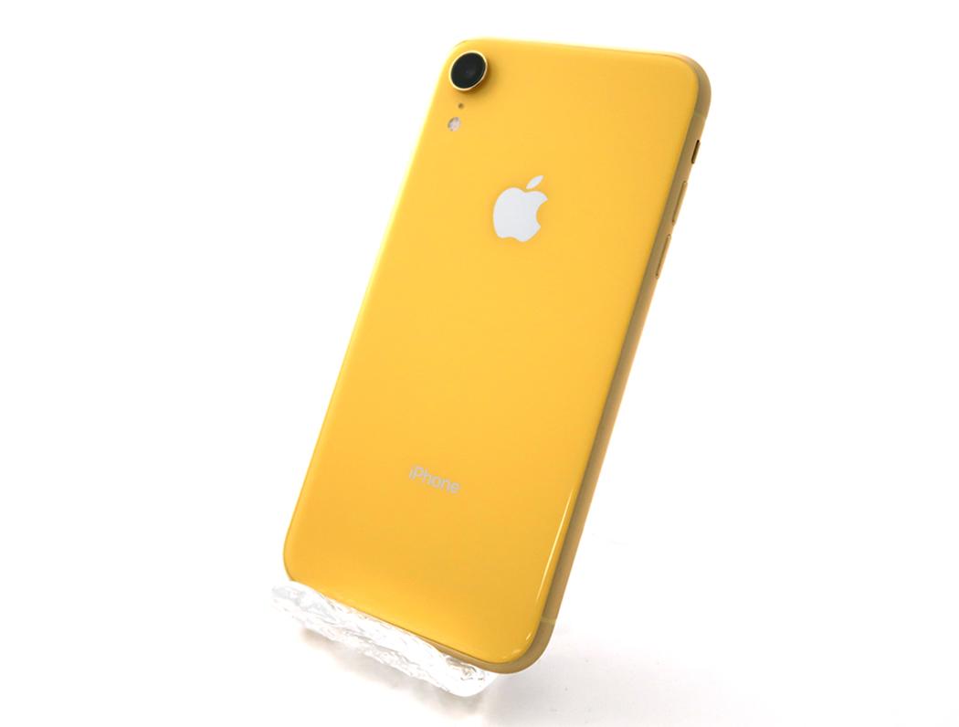 複数出品【SIMフリー】iPhoneXR 128GB Sランク未使用 イエロー[電池状態100%]