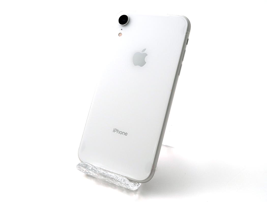 複数出品【SIMフリー】iPhoneXR 128GB Sランク未使用[電池状態100%]ホワイト