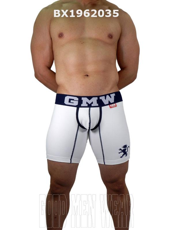 GMW ミニカップ裏起毛ロングボクサー off-white