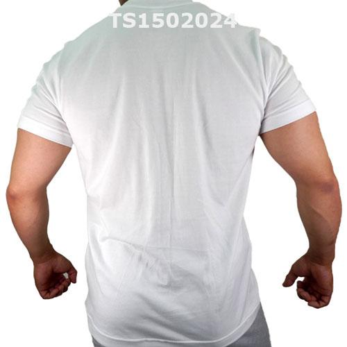 GMW クルーネックスターptスリーブポケットTシャツ WHITE