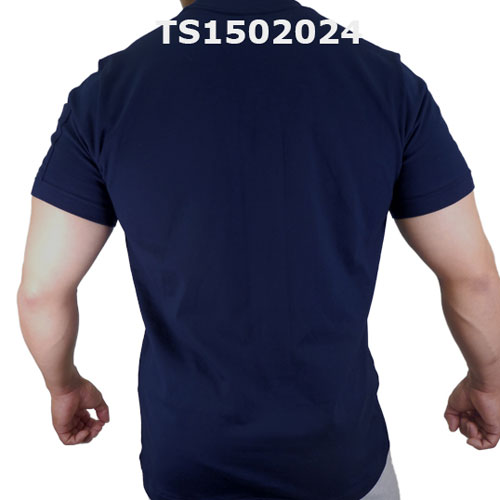 GMW クルーネックスターptスリーブポケットTシャツ NAVY