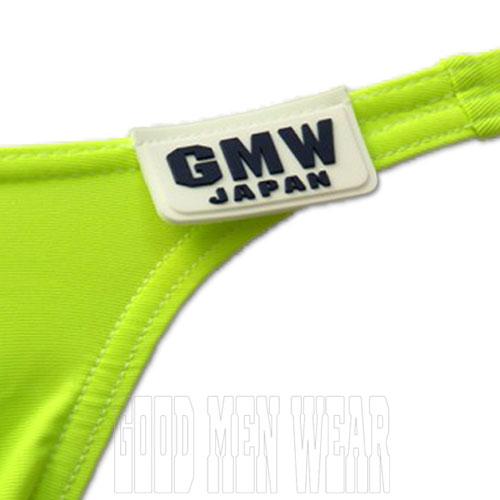 GMW センターシームCORDURAナイロンビキニ yellow