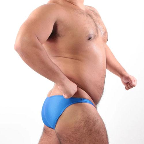 吸水速乾PPGロゴシルキービキニ BLUE