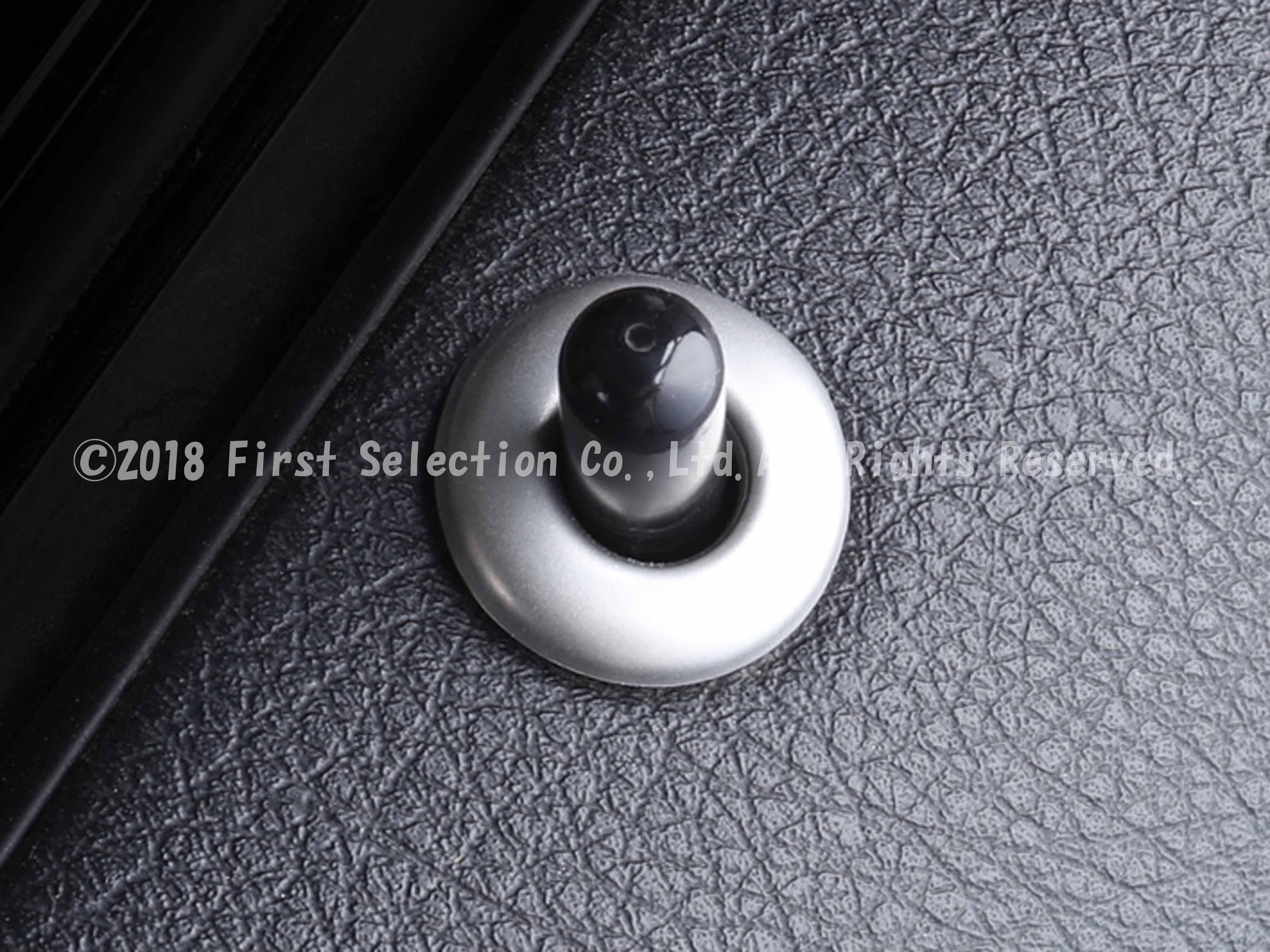 BMW車 F系3シリーズ用 ドアロックデコレーションリング4ピース