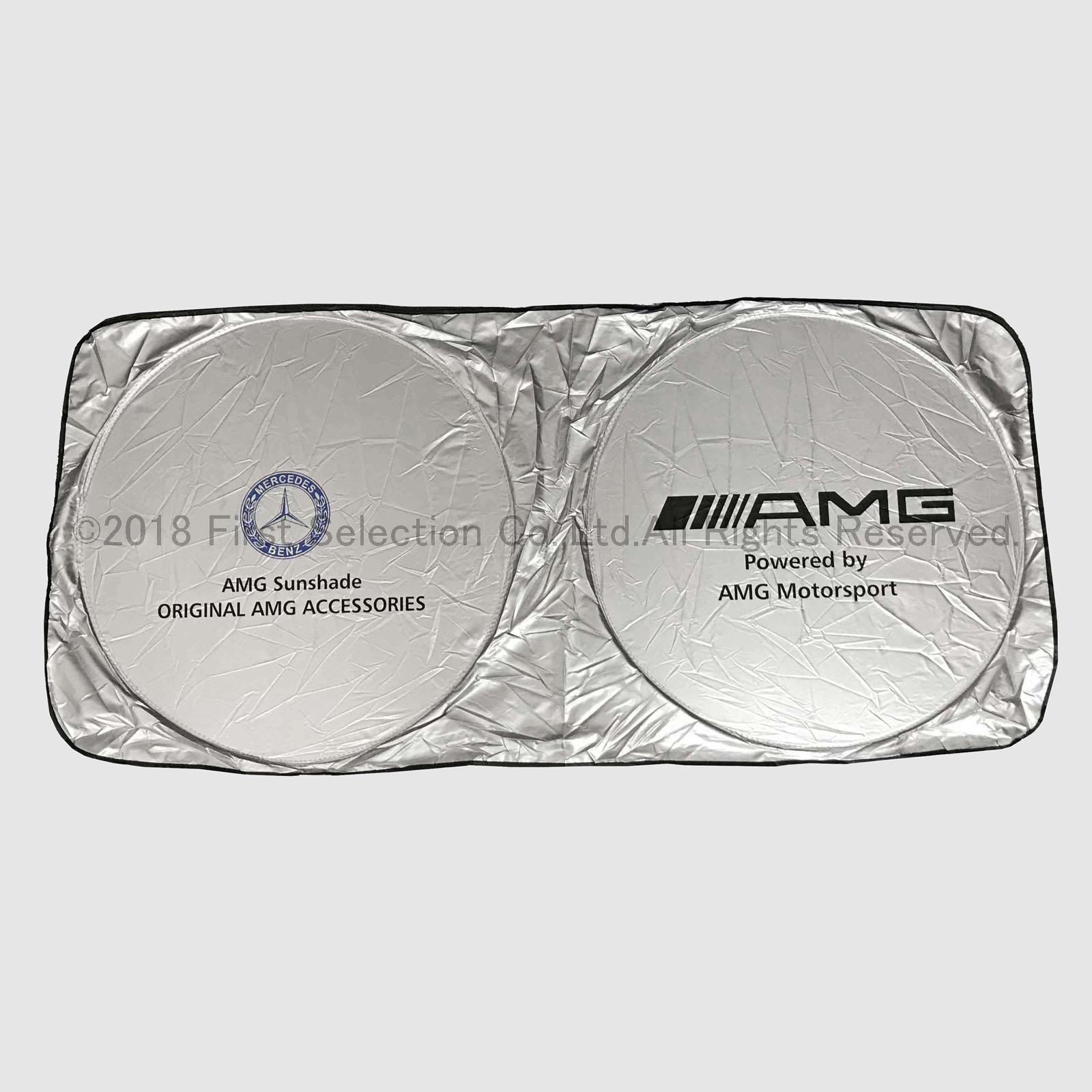 Mercedes-Benz ベンツ車 AMGロゴ 汎用サンシェード Lサイズ タイベック製