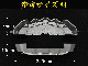 トヨタ車クラウン CROWNロゴ黒文字 汎用高品質キャリパーカバー L/Mサイズセット 銀 シルバー