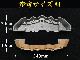 トヨタ車ハリアー HARRIERロゴ黒文字 汎用高品質キャリパーカバー L/Mサイズセット 金 ゴールド