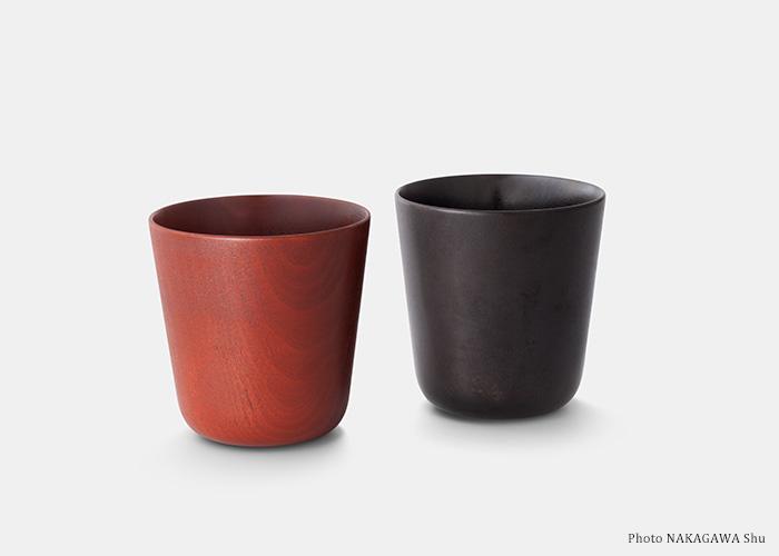 URUSHI CUP(あずき色[通常販売]・黒色[予約販売/11月上旬お届け])