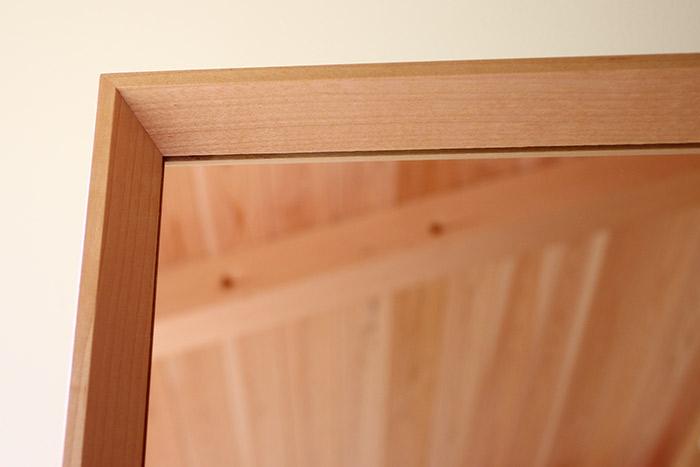 スタンドミラー | 無垢 木製 インテリア 姿見|