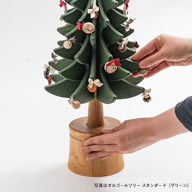 オルゴールツリー プチ(グリーン) Renewal [予約販売/11月中旬お届け]