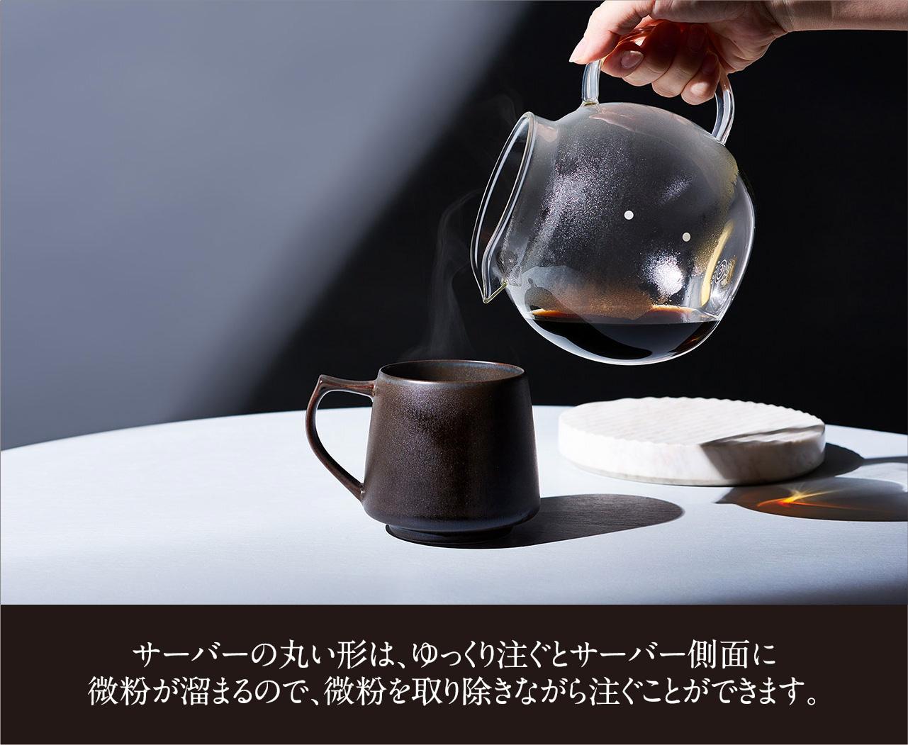 クリアガラスサーバー(6カップ)  C516