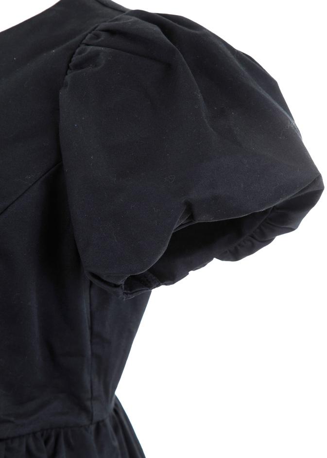 バルーンロングワンピース/ブラック