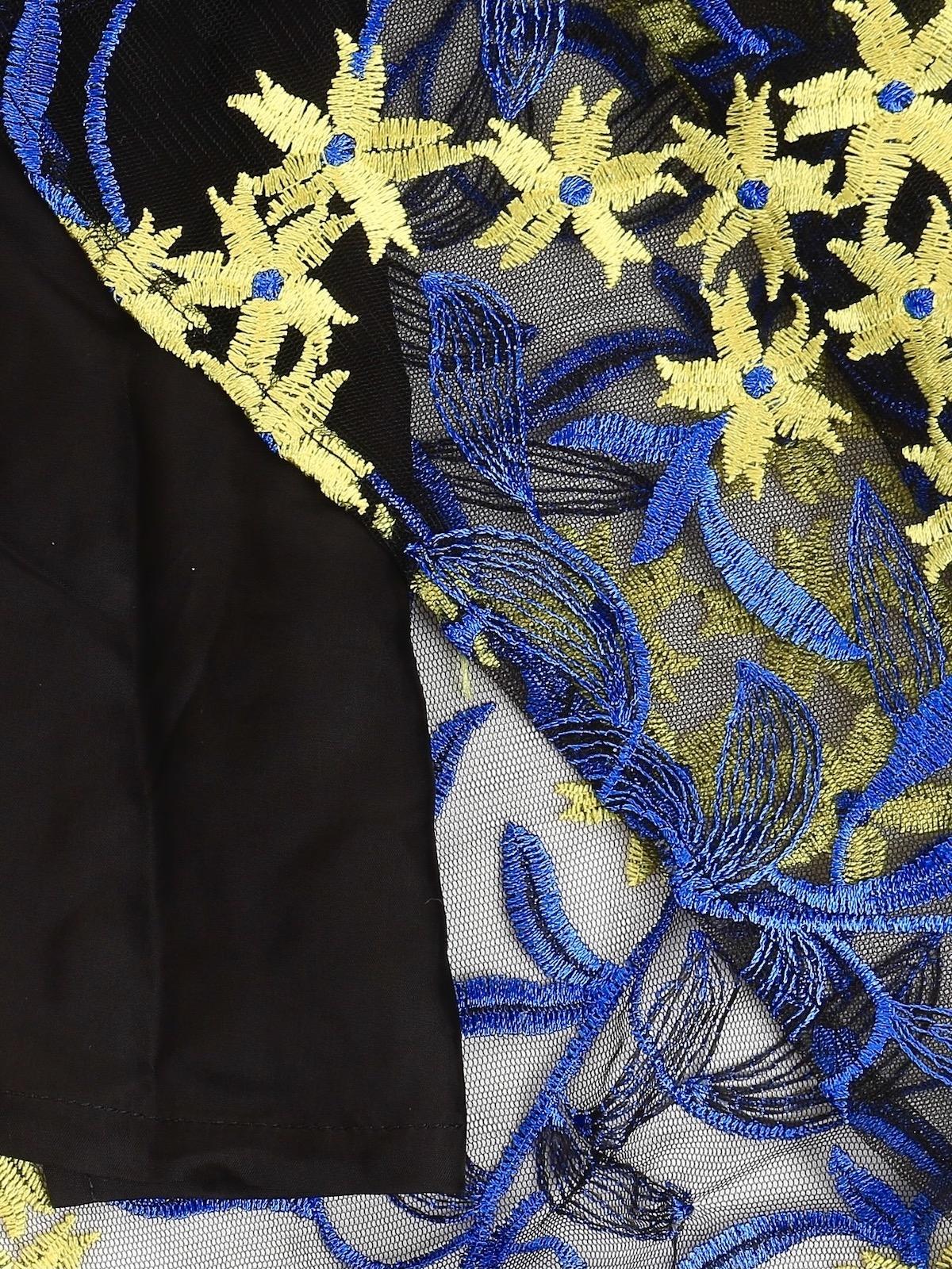 チュールスカート/ブルー