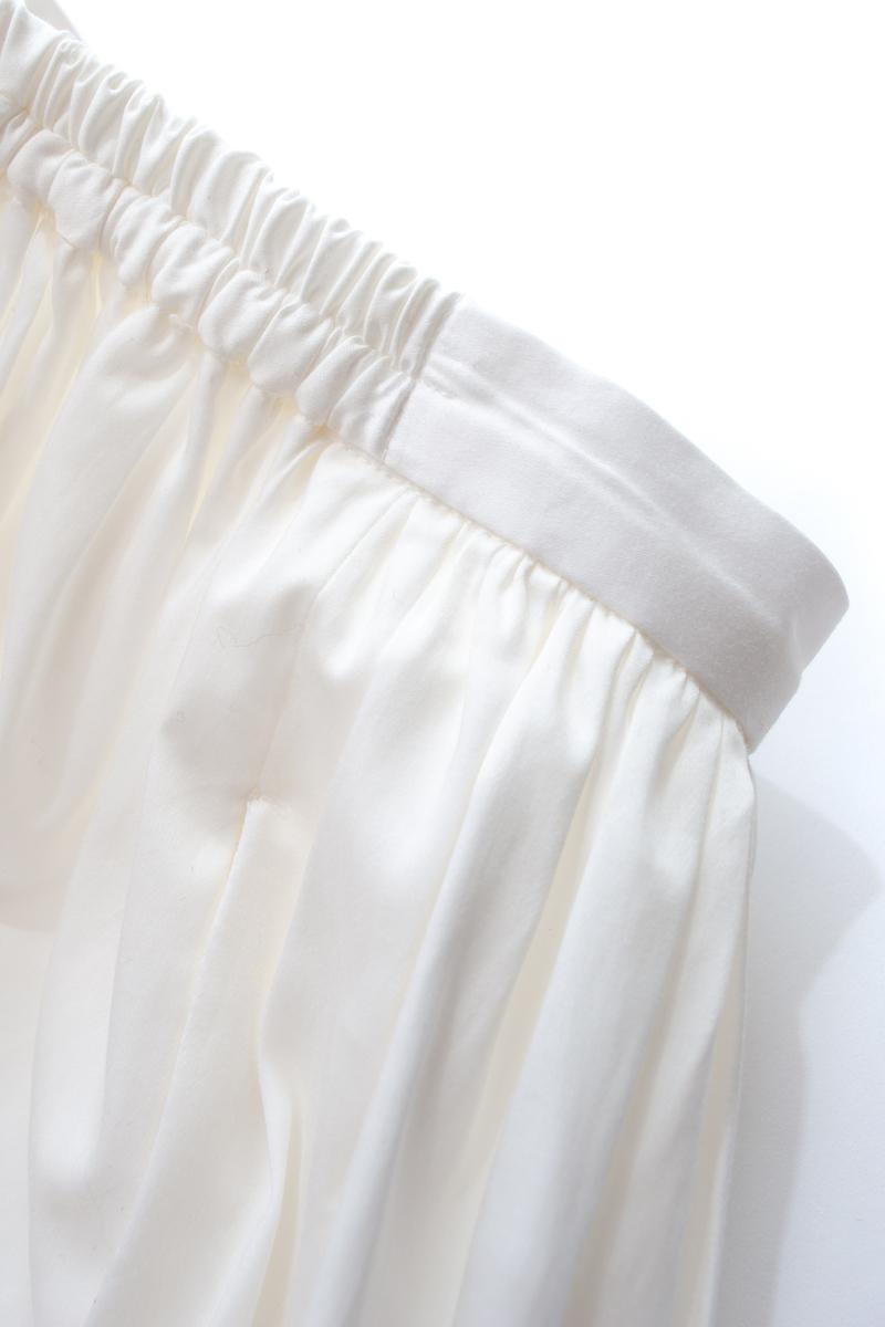 バルーンスカート/ホワイト