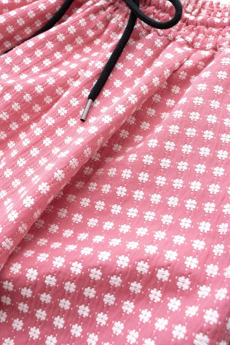 ピンクジャガードスカート【残りわずか】