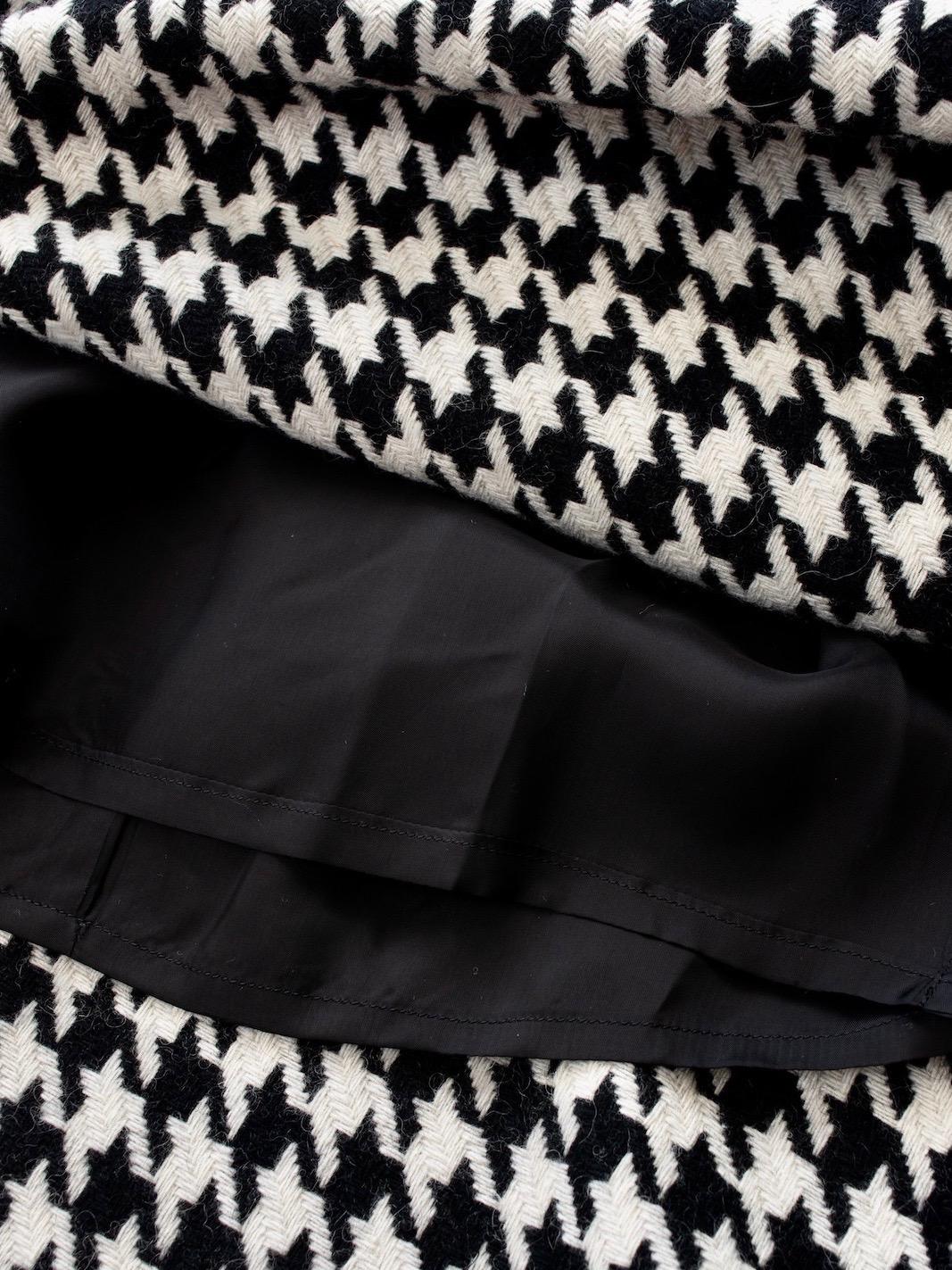 千鳥格子ギャザースカート