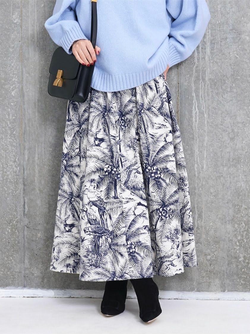 リーフジャガードスカート