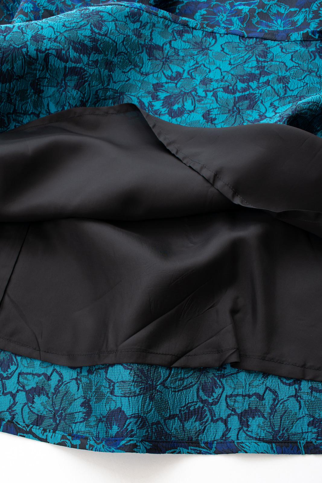 ブルーギャザースカート【残り1点】