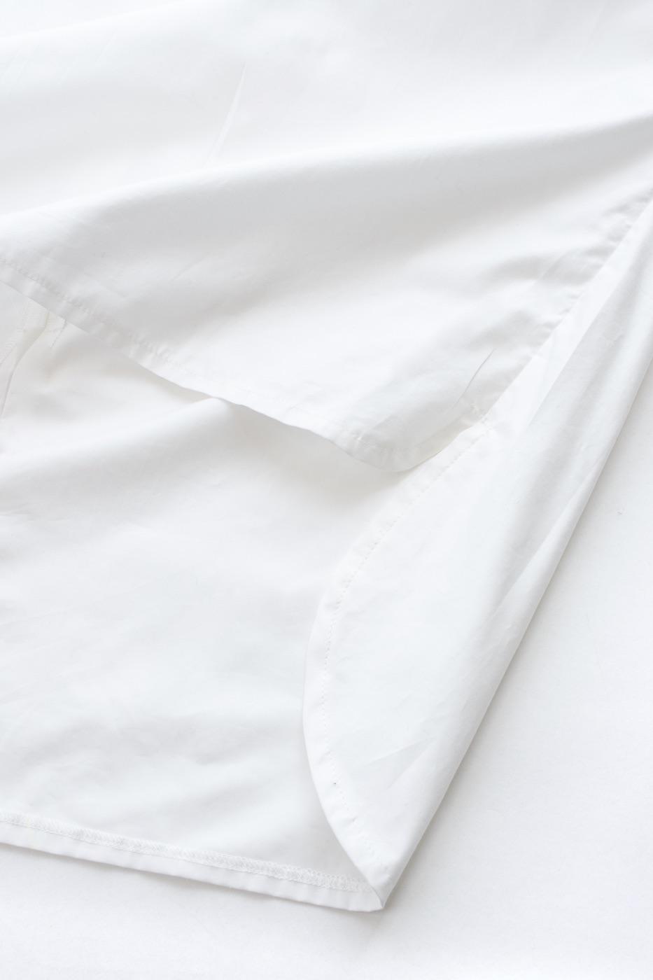 スリーブギャザーブラウス/ホワイト