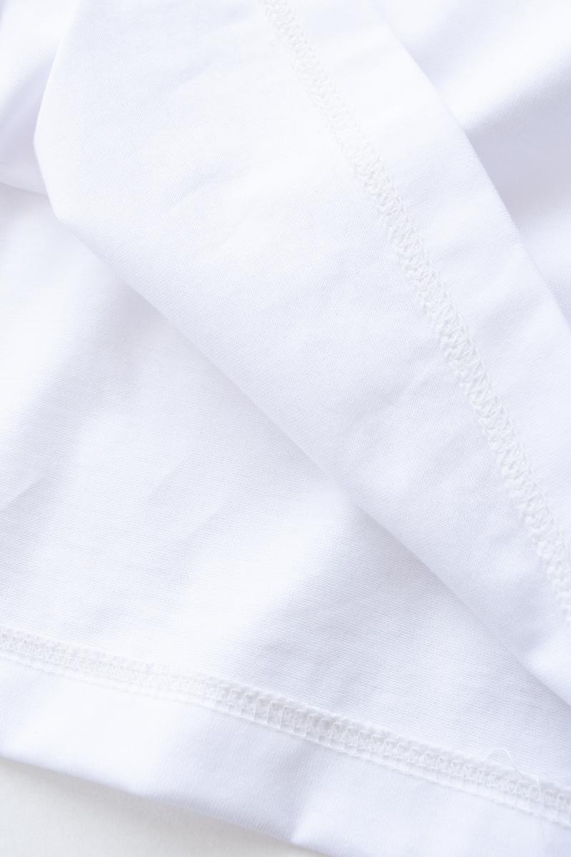 TRUE Tシャツ/ホワイト×グリーン