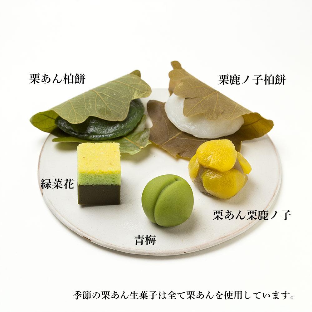 季節の生栗菓子 詰合せ【卯月】