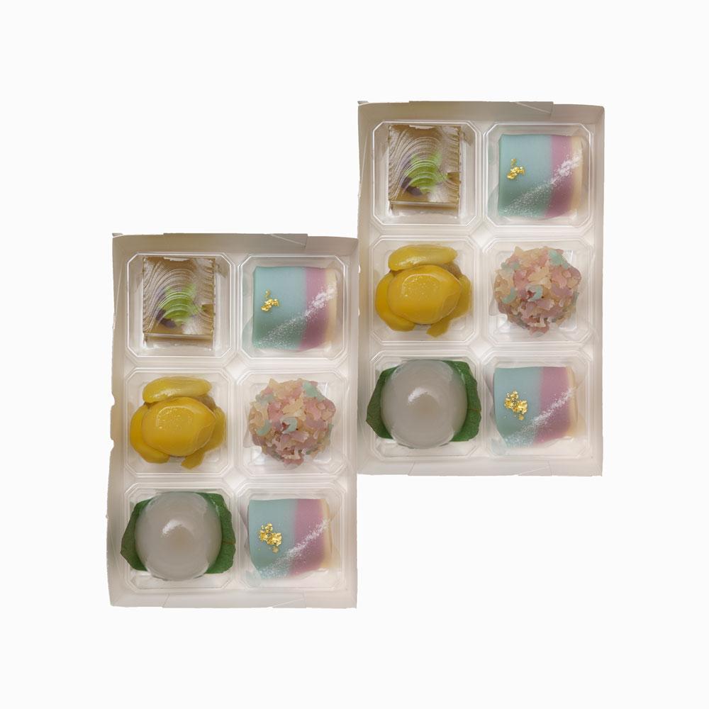 季節の生栗菓子 12個入【水無月】