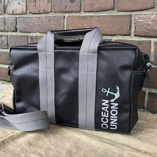 横浜帆布鞄×OCEAN UNION アヴィエイターズ キット バッグ 1/2 S