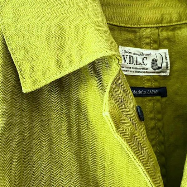 V.D.L.C / フレンチ ワーク ドレスコート(ヘリンボーン)