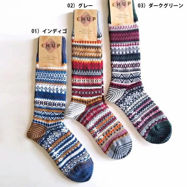 チュプ ソックス CHUP 靴下 MJOSA ミョーサ メンズ レディース 日本製