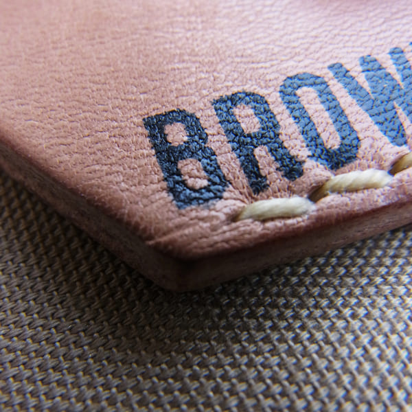 Lot No_br699 / BrownBrown コンパクトカードケース